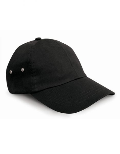 Plush Cap - Caps - 6-Panel-Caps - Result Headwear Black