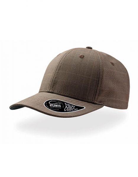 Wales - Baseball Cap - Caps - 6-Panel-Caps - Atlantis Brown