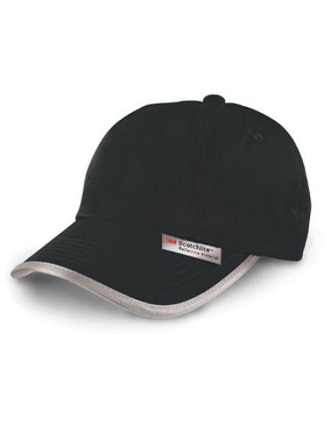 High Vis Cap - Caps - 6-Panel-Caps - Safe-Guard Black