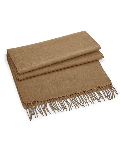 Classic Woven Scarf - Beechfield Biscuit