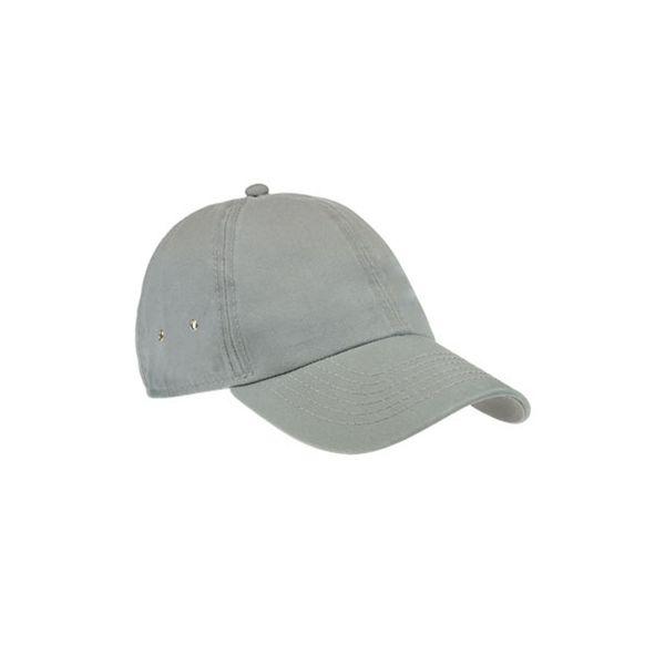 Unisex 6-Panel Cap Hell Grau Baseball Cap Mütze