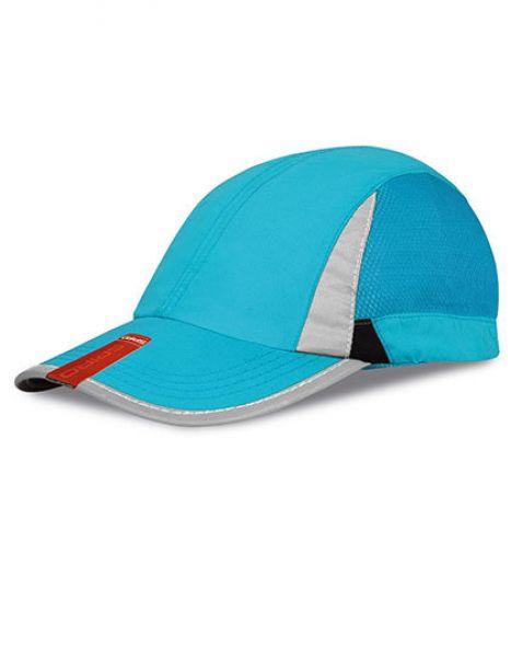 Sport Cap - Caps - Netz- & Sport-Caps - Result Headwear Aqua - Black