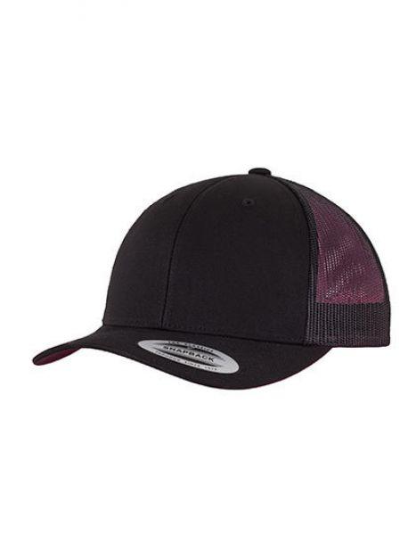 Retro Trucker - Caps - 6-Panel-Caps - FLEXFIT Black