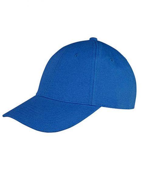 Memphis Brushed Cotton Low Profile Cap - Caps - 6-Panel-Caps - Result Headwear Azure