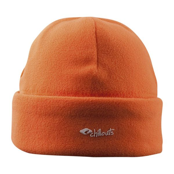 CHILLOUTS Freeze Fleece Cramp Hat Wintermütze in Orange | Strickmütze