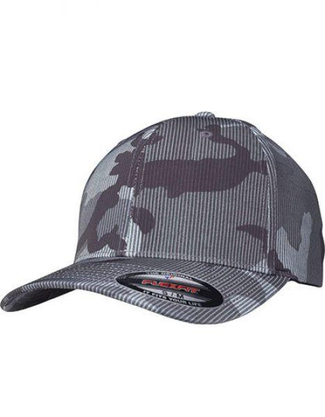 Flexfit Camo Stripe Cap - Caps - FLEXFIT Dark Camo