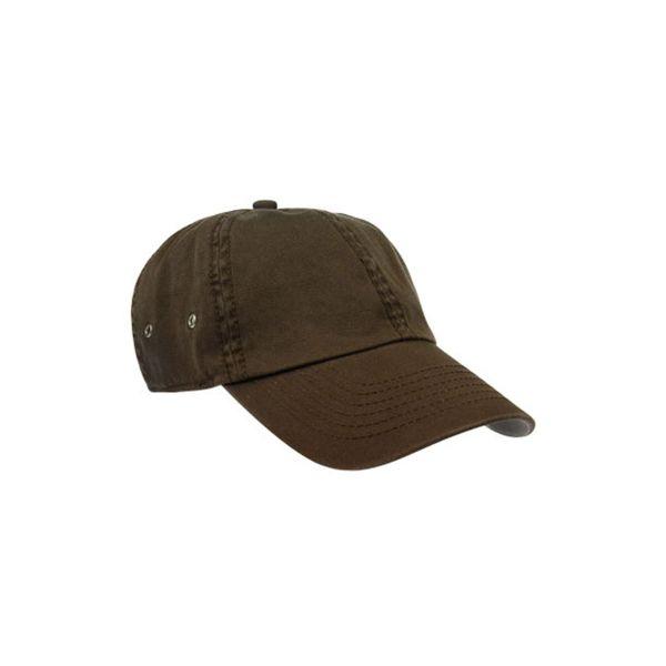 Unisex 6-Panel Cap Braun Baseball Cap Mütze