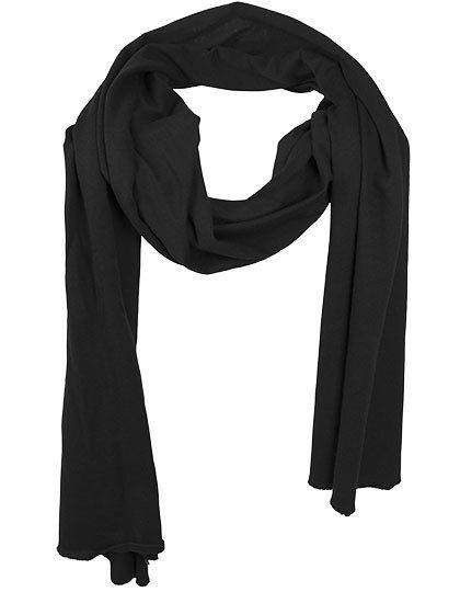 Jersey Scarf - Winteraccessoires & Mützen - Schals - Build Your Brand Black