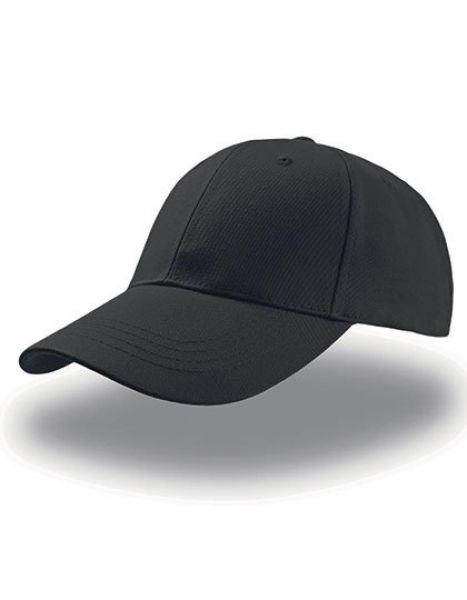 Zoom Cap - Caps - 6-Panel-Caps - Atlantis Black