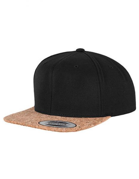 Cork Snapback - Caps - 6-Panel-Caps - FLEXFIT Black
