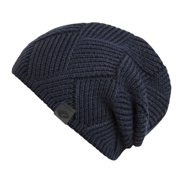 CHILLOUTS Maik Hat Herren Beanie Mütze in navy blau Wintermütze