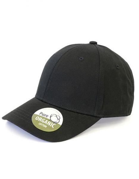 Organic Cotton Cap - Caps - 6-Panel-Caps - Brain Waves Black