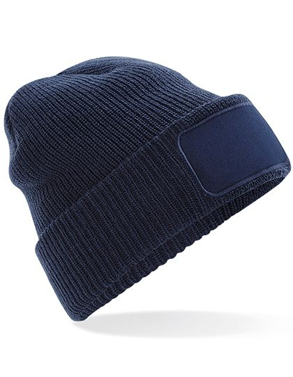 Thinsulate™ Patch Beanie - Beechfield French Navy