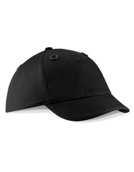 EN812 Bump Cap - Caps - 5-Panel-Caps - Beechfield Black