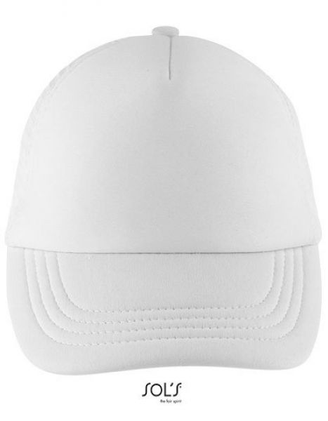 Bubble Kids Cap - SOL´S White