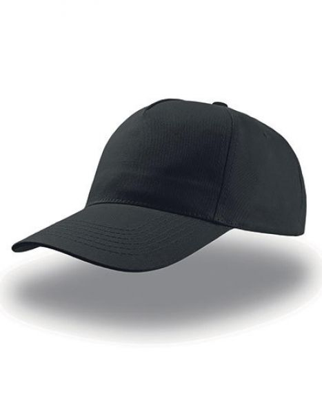 Start Five Cap - Caps - 5-Panel-Caps - Atlantis Black