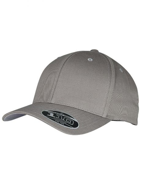 Flexfit Wooly Combed Adjustable Cap - FLEXFIT Grey