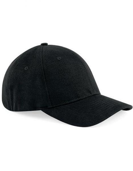 Signature Stretch-Fit Baseball Cap - Caps - 6-Panel-Caps - Beechfield Black