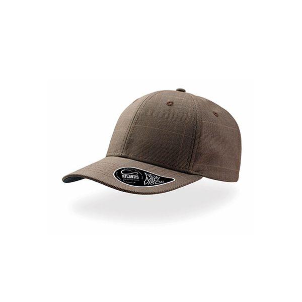 Unisex 6-Panel Cap Braun Baseball Snapback Cap Mütze