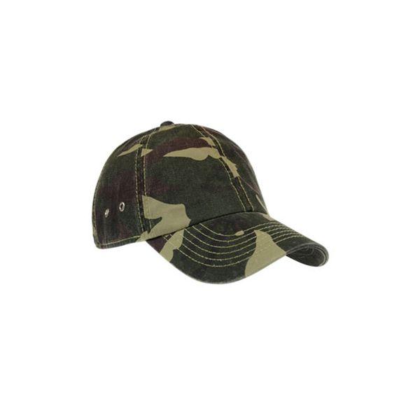 Unisex 6-Panel Cap Camouflage Baseball Cap Mütze