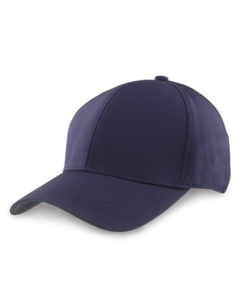 Tech Performance Soft Shell Cap - Caps - 3-Panel-Caps - Result Headwear Navy