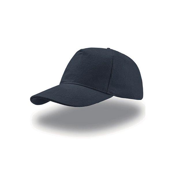 Unisex 5-Panel Cap Navy Blau Baseball Cap Mütze