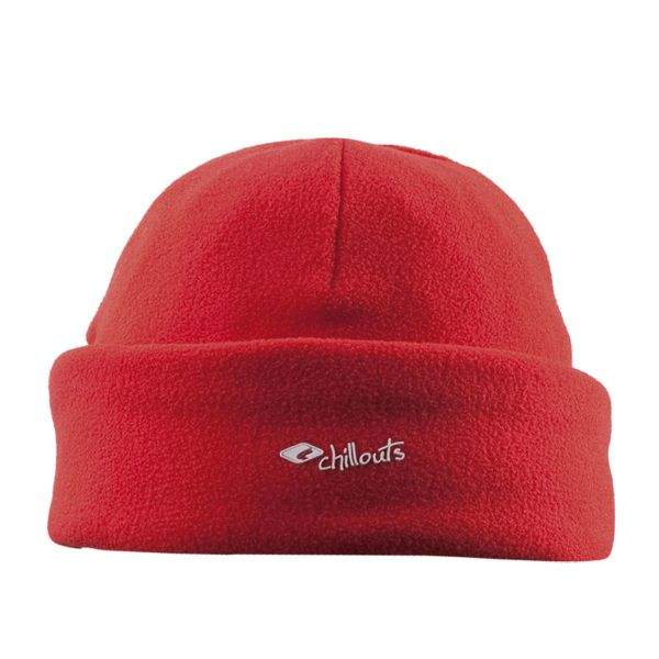 CHILLOUTS Freeze Fleece Cramp Hat Wintermütze in Rot | Strickmütze