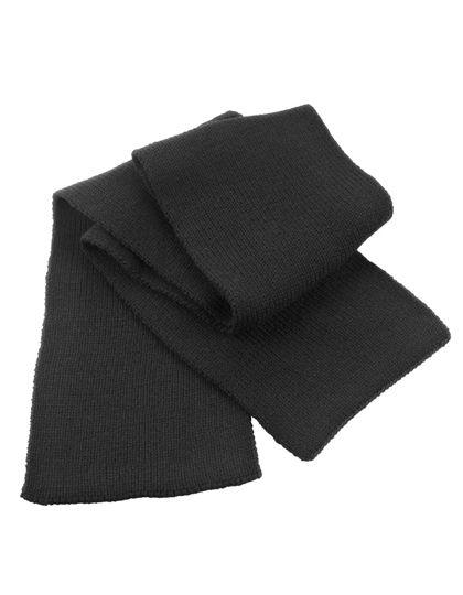 Classic Heavy Knit Scarf - Winteraccessoires & Mützen - Schals - Result Winter Essentials Black