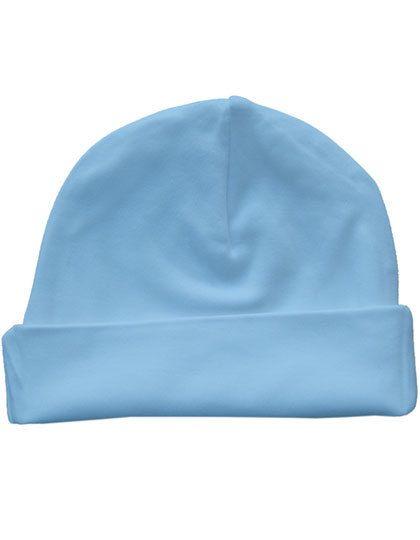 Bio Baby Hat - Kinderbekleidung - Baby Lätzchen & Mützen - Link Kids Wear Babyblue