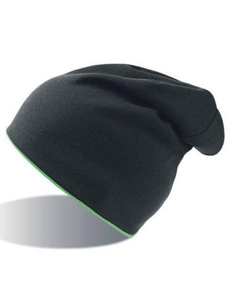 Extreme Hat - Winteraccessoires & Mützen - Mützen - Atlantis Black - Green Fluo