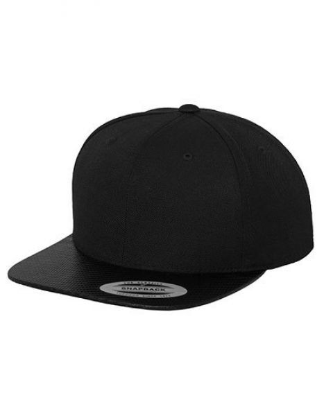 Carbon Snapback - Caps - 6-Panel-Caps - FLEXFIT Black - Carbon