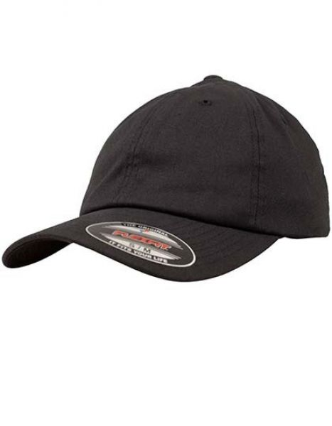 Flexfit Cotton Twill Dad Cap - Caps - 6-Panel-Caps - FLEXFIT Black