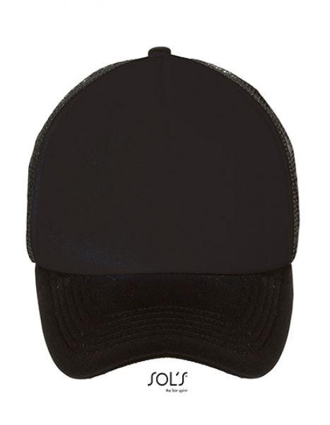 Bubble Cap - Caps - Netz- & Sport-Caps - SOL´S Black