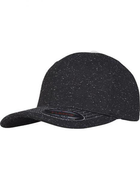 Piqué Dots Flexfit Cap - Caps - FLEXFIT Black