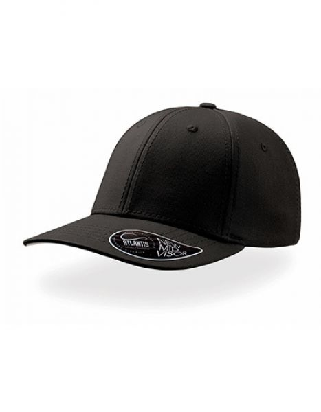 Pitcher - Baseball Cap - Caps - 6-Panel-Caps - Atlantis Black