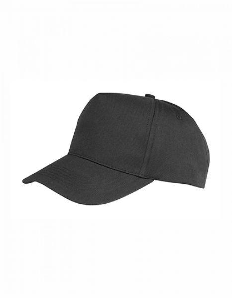Junior Boston Printers Cap - Kinderbekleidung - Kinder Caps & Mützen - Result Headwear Black
