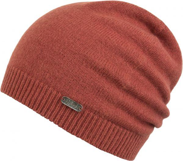 CHILLOUTS Romy Hat Damen Beanie Mütze in Rost Wintermütze
