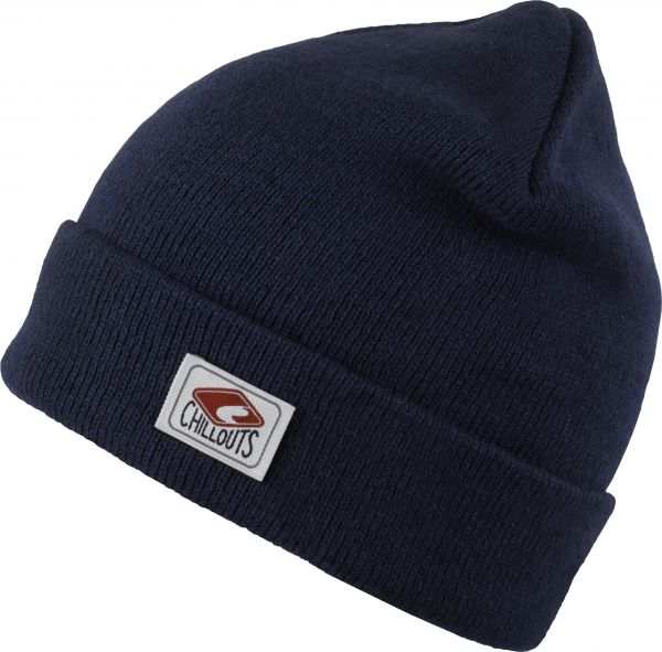 CHILLOUTS Mitch Hat Herren Wintermütze in Navy | Strickmütze