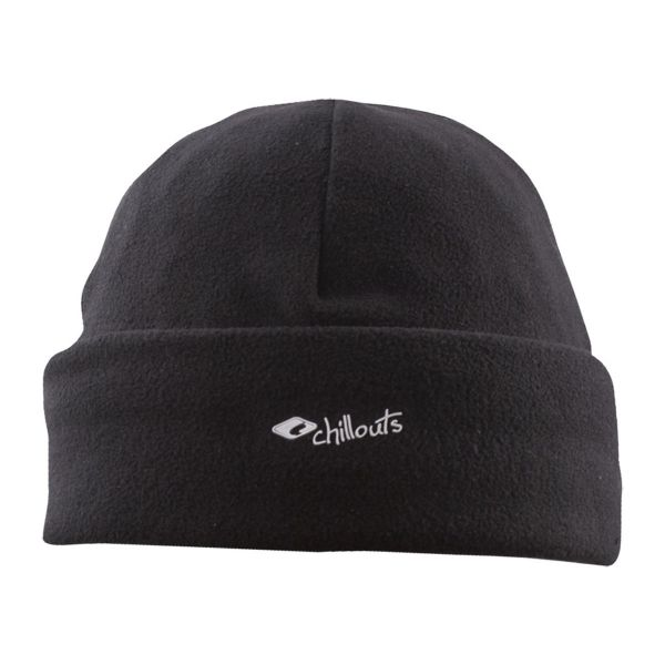 CHILLOUTS Freeze Fleece Cramp Hat Wintermütze in Schwarz | Strickmütze