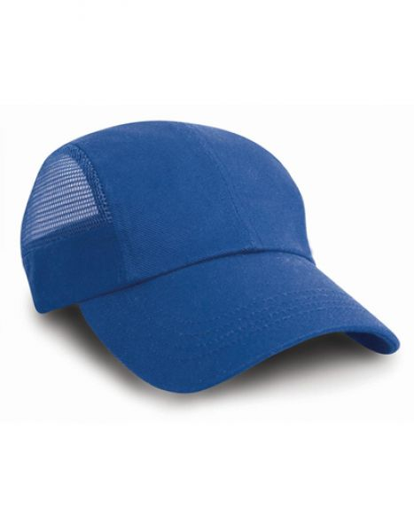 Sport Cap with Side Mesh - Caps - 3-Panel-Caps - Result Headwear Royal