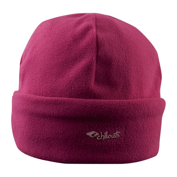 CHILLOUTS Freeze Fleece Cramp Hat Wintermütze in Pink | Strickmütze