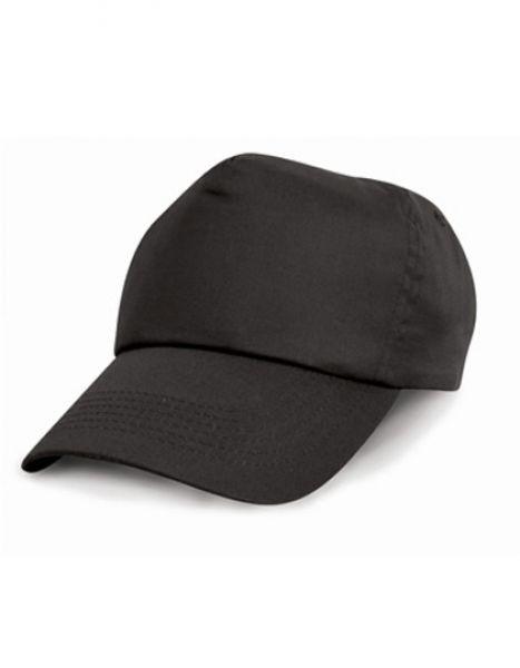 Cotton Cap - Caps - 5-Panel-Caps - Result Headwear Black