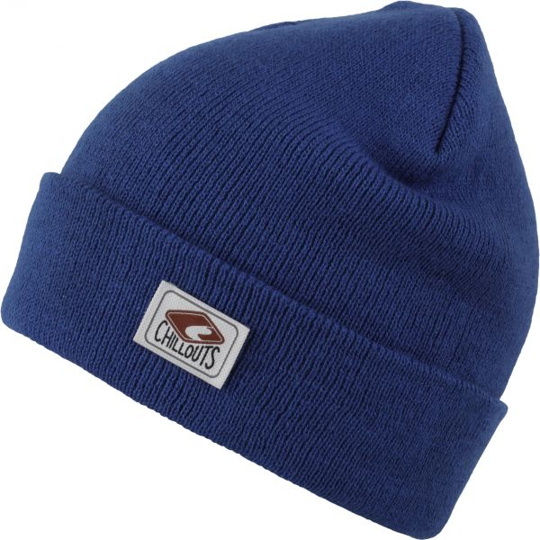 CHILLOUTS Mitch Hat Herren Wintermütze in Blau | Strickmütze