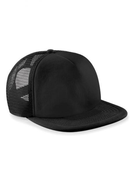 Vintage Snapback Trucker Cap - Caps - Netz- & Sport-Caps - Beechfield Black - Black