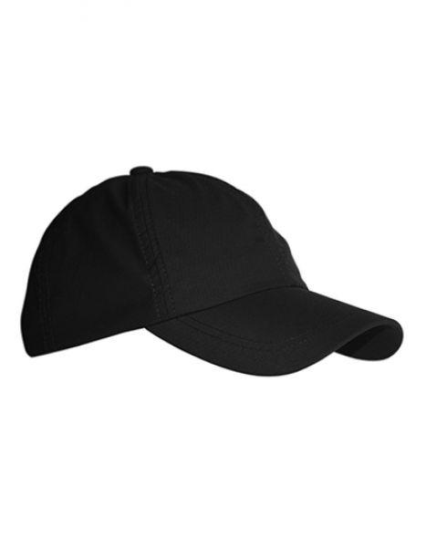 Aktiv Cap - Caps - 6-Panel-Caps - Printwear Black