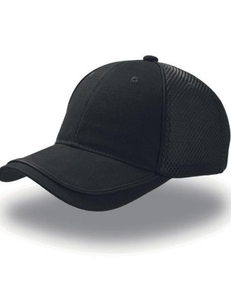 Golf Cap - Caps - Netz- & Sport-Caps - Atlantis Black