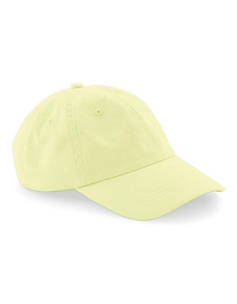 Low Profile 6 Panel Dad Cap - Caps - 6-Panel-Caps - Beechfield Pastel Lemon