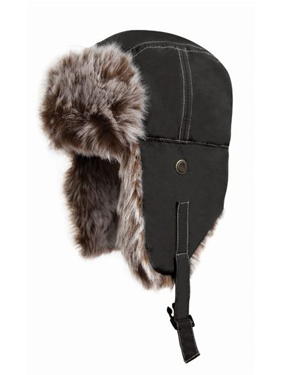 Classic Sherpa Hat - Winteraccessoires & Mützen - Mützen - Result Winter Essentials Jet Black